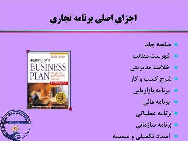 طرح های کسب و کار